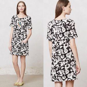 Anthropologie Maeve Zola floral shift dress